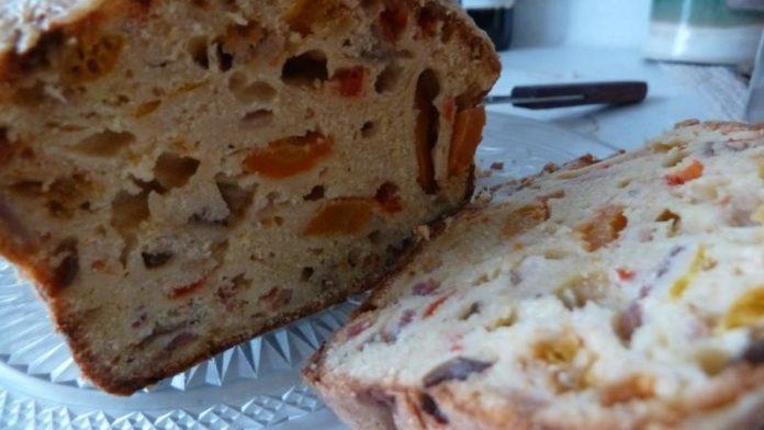 Cake aux lardons et olives au thermomix