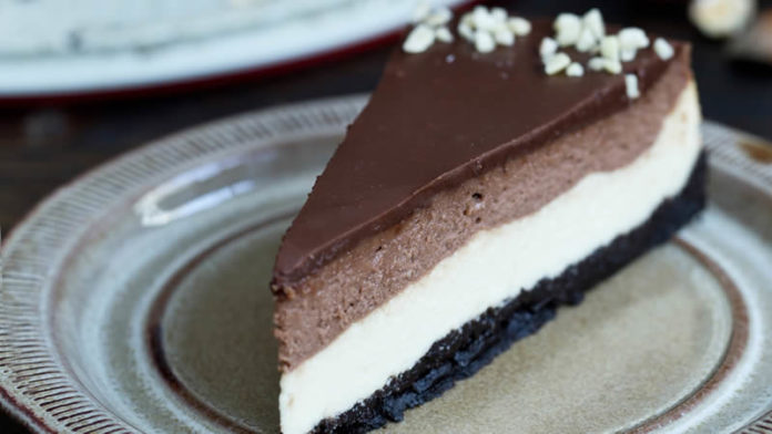 Cheese cake vanille Nutella