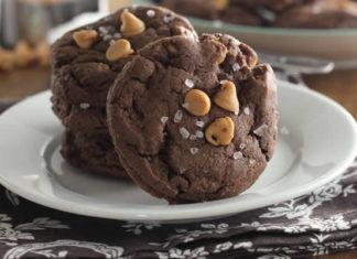 Cookies au chocolat et cacahuètes