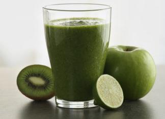 Jus de fruit pomme kiwi