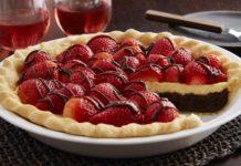 Tarte au chocolat blanc et fruits rouges au thermomix
