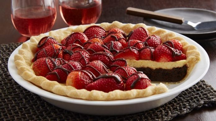 Tarte au chocolat blanc et fruits rouges au thermomix