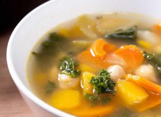 soupe aux 7 légumes
