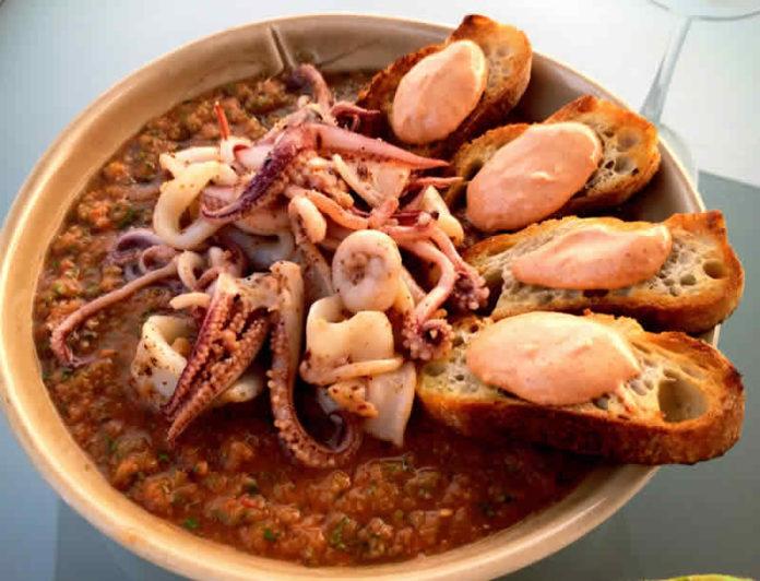 Calamars au paprika