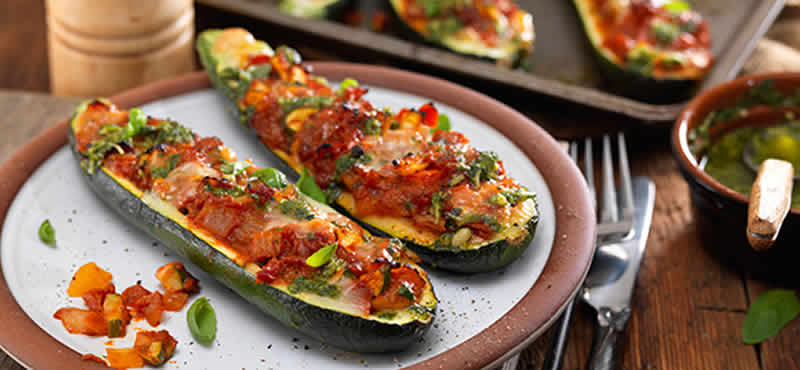 Courgette farcie tomate curry recettes plats au thermomix - Courgettes farcies thermomix ...