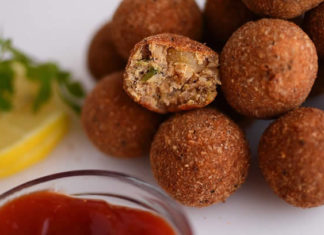 Croquettes de poisson au curry
