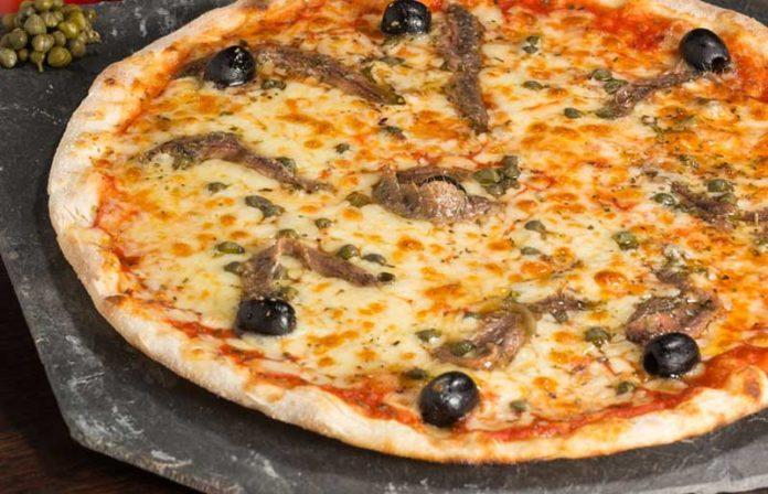 Pizza napolitaine au thermomix