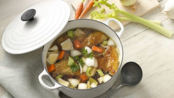 Pot-au-feu de poulet au thermomix
