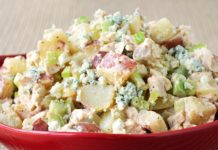 Salade de pomme de terre et poulet