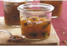 Confiture fruits secs et agrumes au thermomix