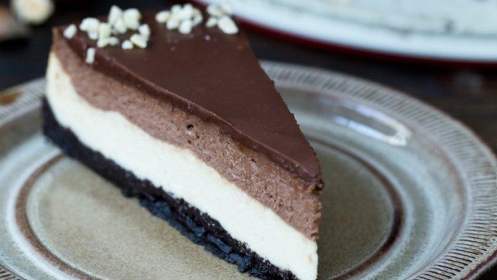 Cheesecake au nutella et pralin au thermomix