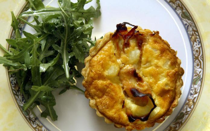 Muffins pomme de terre jambon et fromage au thermomix