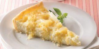 Tarte au fromage blanc d'alsace au thermomix
