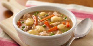 Soupe asiatique au poulet au thermomix.