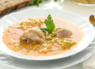 Bouillon de poulet et légumes au Thermomix