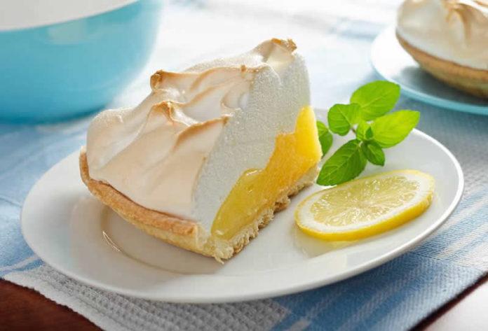 Tarte meringuée au citron au thermomix
