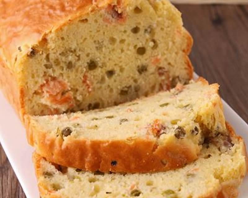Cake au saumon fumé au thermomix - Recette Thermomix