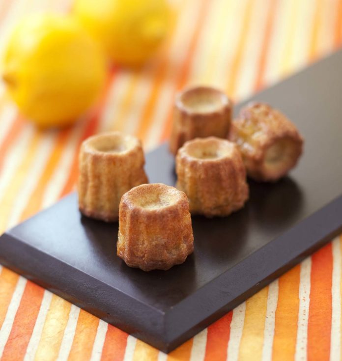 Cannelés au citron au thermomix