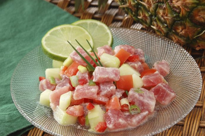 Salade Tahitienne au thermomix