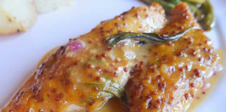 Blanc de poulet sauce moutarde au thermomix