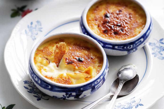 Crème catalane au thermomix