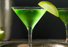 Cocktail au rhum saveurs pomme au thermomix