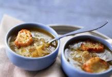 Soupe à l'oignon gratiné au thermomix