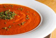 Velouté de tomates à l'italienne au thermomix