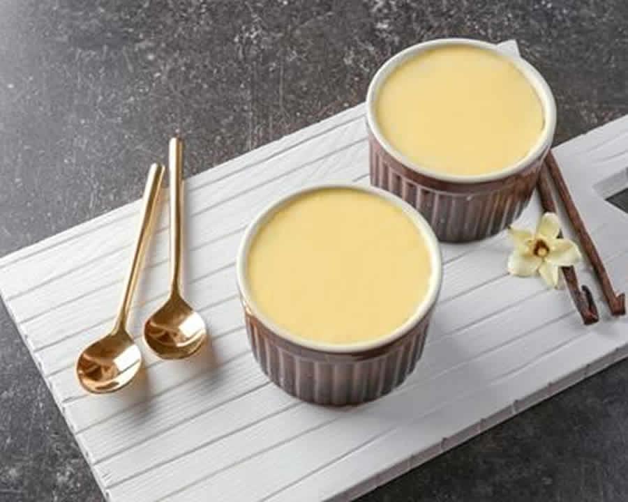 Crème façon danette vanille au thermomix - Desserts