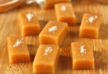 Caramels au beurre salé de Noël au thermomix
