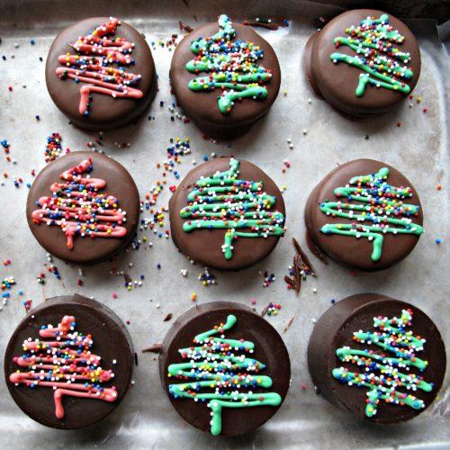 Petits chocolats de Noël aux noisettes au thermomix