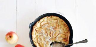 Clafoutis de boudin aux pommes au thermomix