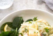 Crevettes à la crème d'ail au thermomix