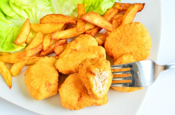 Nuggets de poulet maison au Thermomix