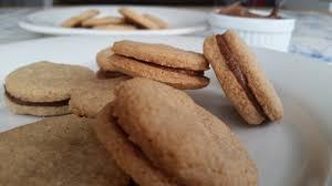 Biscuits fourrés à la crème de marron au thermomix
