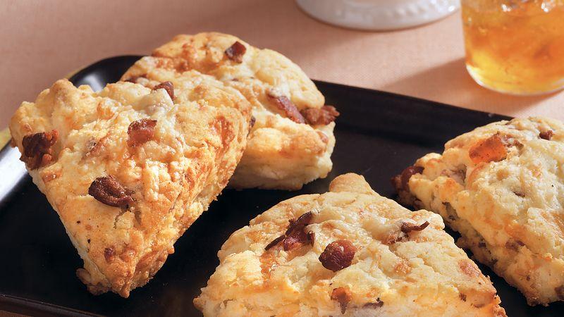 Cookies aux lardons et gruyère au thermomix.