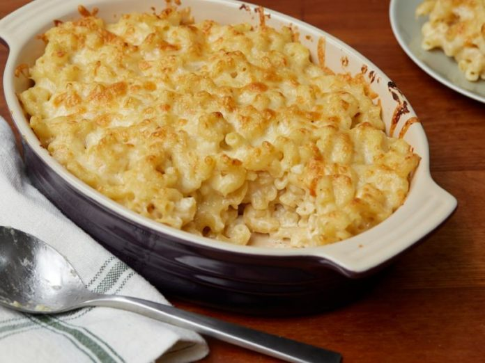 Gratin de macaronis au cheddar au thermomix
