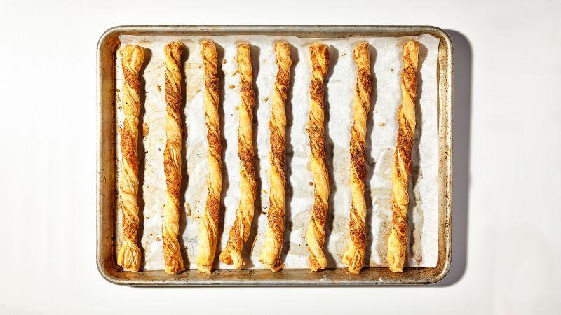 Bâtonnets de fromage croustillants au thermomix