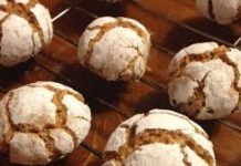 Biscuits Amaretti au thermomix