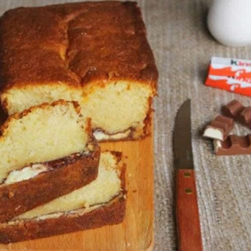 Cake au kinder maxi au thermomix
