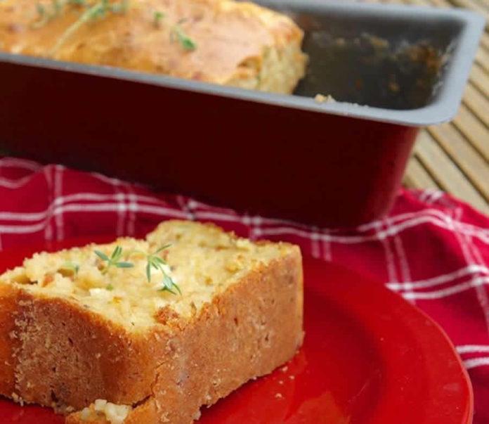 Cake au poulet et aux olives au thermomix