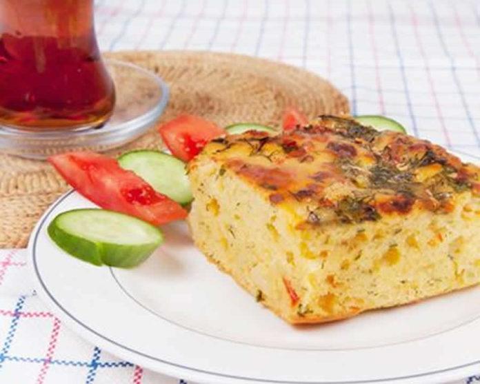 Cake aux légumes et aux crevettes au thermomix