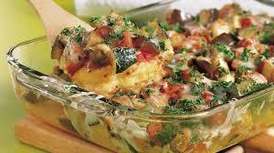Gratin de polenta au fromage et jambon au thermomix