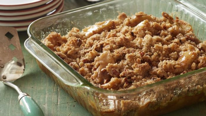 Crumble pomme speculoos au thermomix