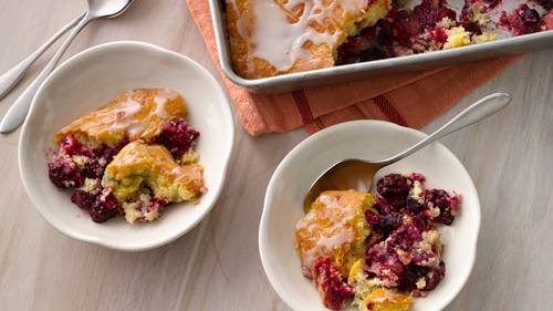 Gâteau léger aux fruits rouges à 0 SP