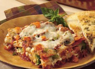 Lasagnes au thon et légumes au thermomix