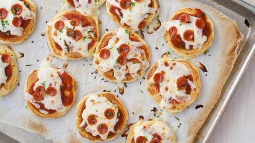 Mini pizzas apéritives au thermomix