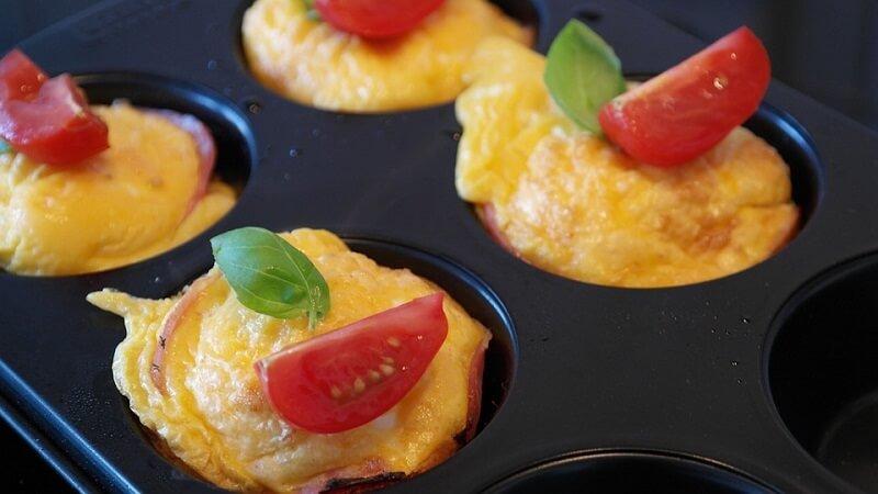 Minis cannelés salés tomate et basilic au thermomix