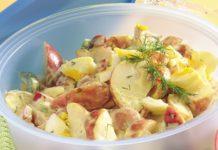 Salade de pommes de terre au saumon au thermomix