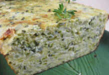Terrine de courgettes au thermomix